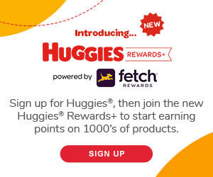 Get Points and Rewards on Diapers AND Groceries