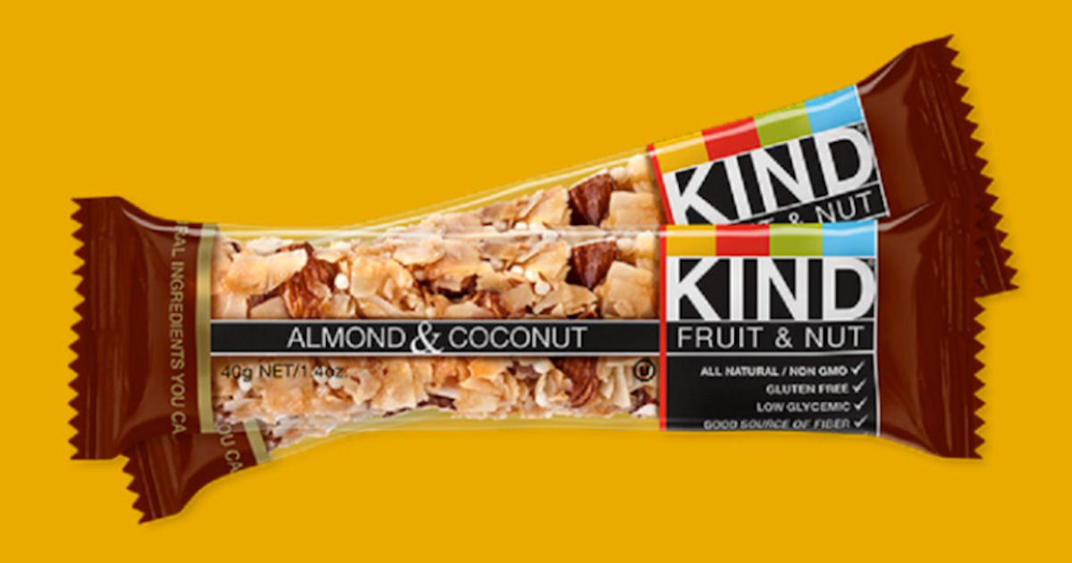 Free KIND Snack Bar